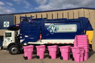 Pink Garbage Cart Fundraiser-WCF-1